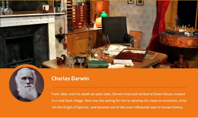 Charles-Darwin-desk