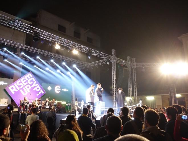 カイロで開催された地域最大規模のスタートアップイベントRiseUp Summitのフィナーレ