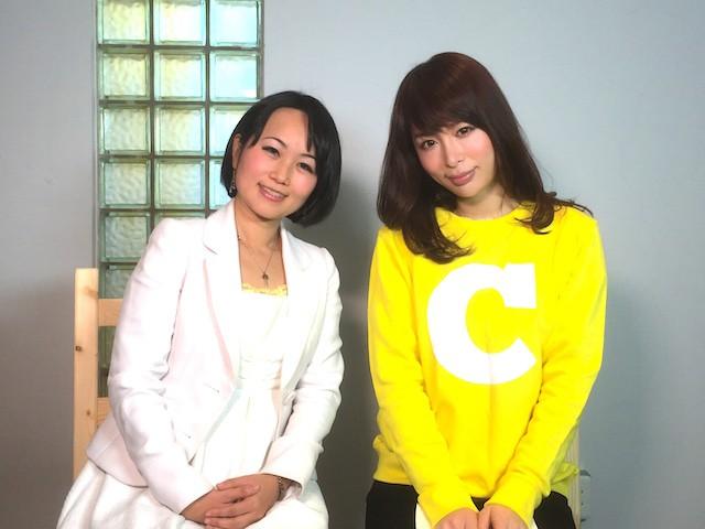 左:マナベル代表取締役の小林コトミさん 右:C Channel クリッパー なこつさん