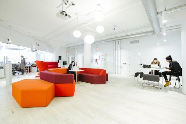 ニューヨークのWeWork Soho West Lounge
