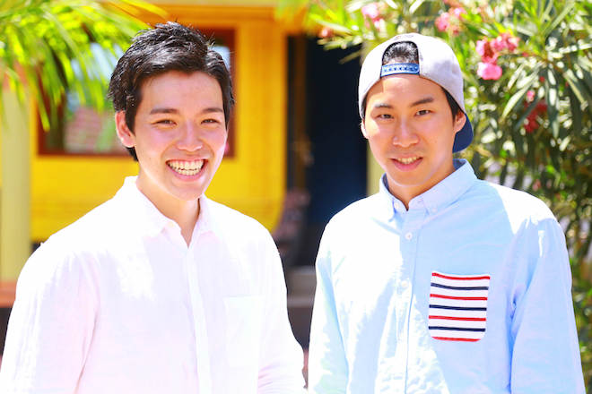 上:コーファウンダーの佐藤勇志氏(左)と岳獅悠司氏(右)