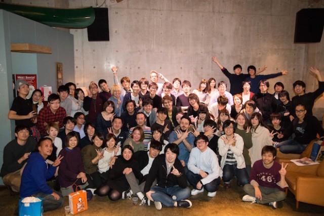 2015年グッドパッチ忘年会にて Credit: Goodpatch