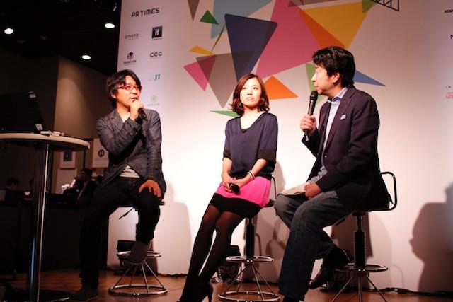 左から:スマートニュース メディアコミュニケーションディレクターの松浦 茂樹氏、『C CHANNEL』編集長の山崎 ひとみ氏、C Channe取締役の三枝 孝臣氏