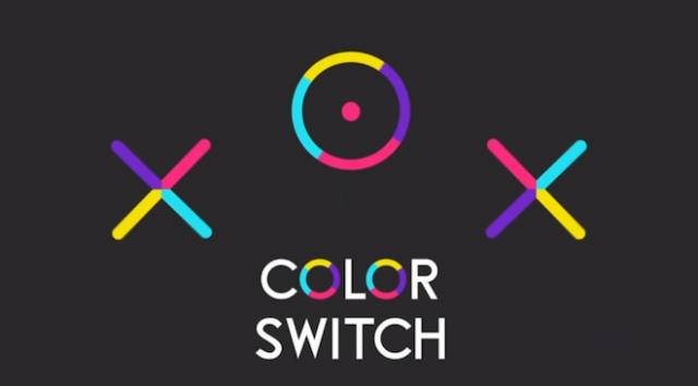 上: Color Switch Image Credit: Fortafy Games
