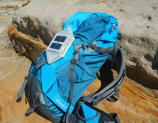 Landport-Solar-Puff-on-backpack
