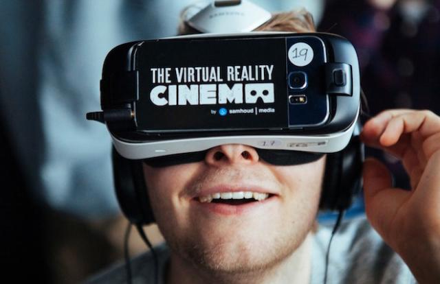 Above: The VR Cinema Image Credit: The VR Cinema