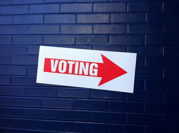 """Voting"" via Flickr by Justin Grimes"