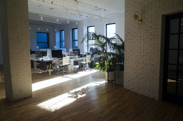 Gratuitous picture of our new office.