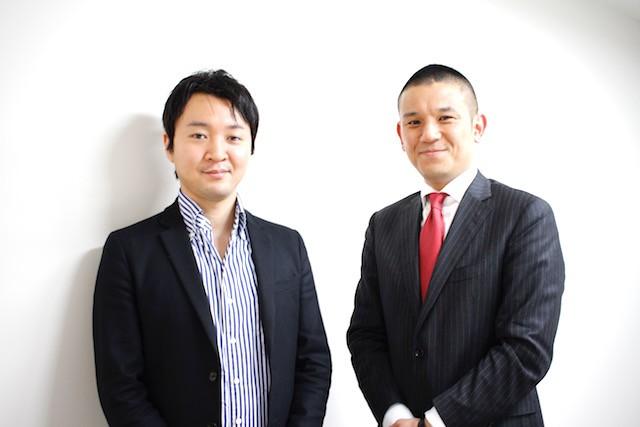左:スタディプラス代表取締役 廣瀬 高志氏 右:代々木ゼミナール副理事長 高宮敏郎氏