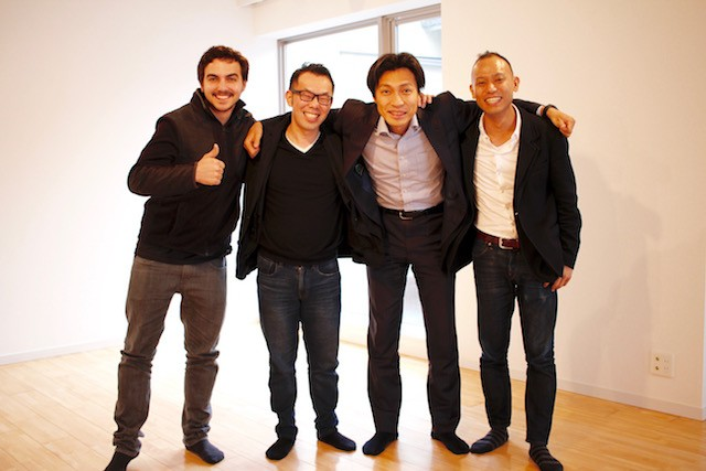ポケットメニューと500 Startups Japanのチーム