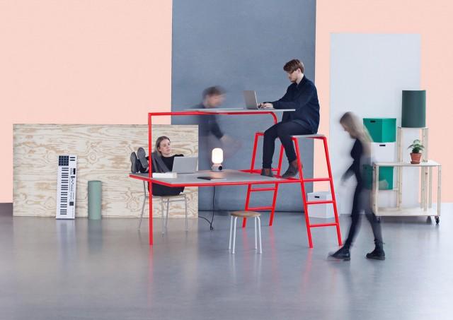 Bunk Desk—André Gunnarsson