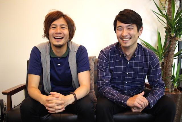 左:ferret編集長 飯髙悠太 氏 右:notari代表取締役 今城博史氏