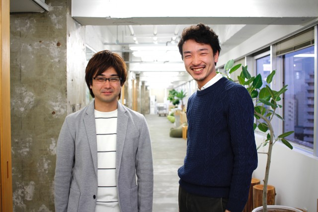 左:グッドパッチ 取締役の村越 悟氏 右:クオンタム Startup Studio事業責任者の井上 裕太氏