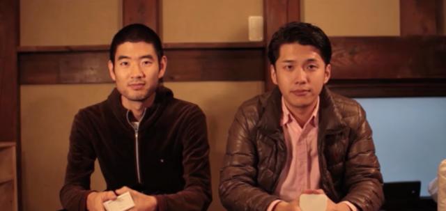 CEOの塩出晴海さん(右)とCTOの大塚雅和さん(左)