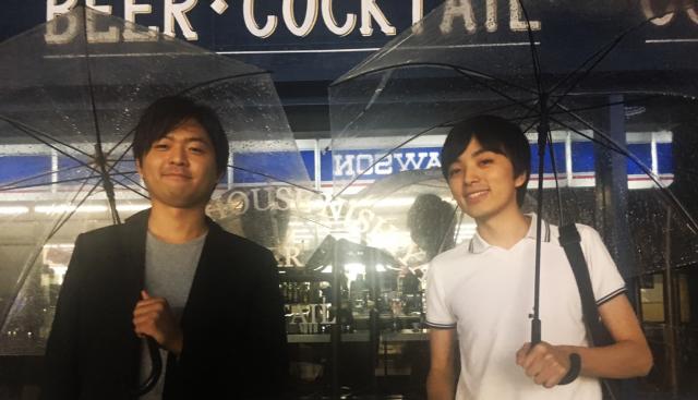 Airsalon 代表取締役の阿部 竜作さん(右)と 執行役員の魚住直輝さん(左)