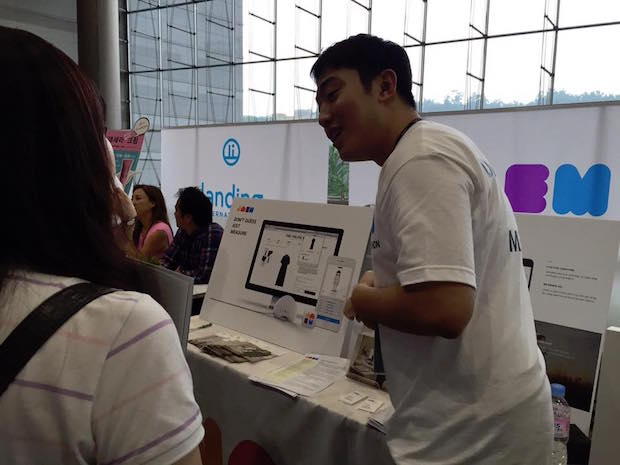 sparks-7th-demo-day-booth-jaem