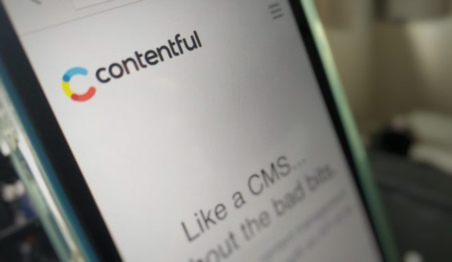 上: Contentful Image Credit: Paul Sawers / VentureBeat