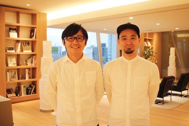 左:CCCデザインカンパニー執行役員 坂田真我氏 右:ワンモア代表取締役CEO 沼田健彦氏