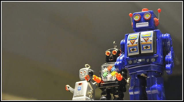 Image Credit:Robot / maitreyoda on Flickr