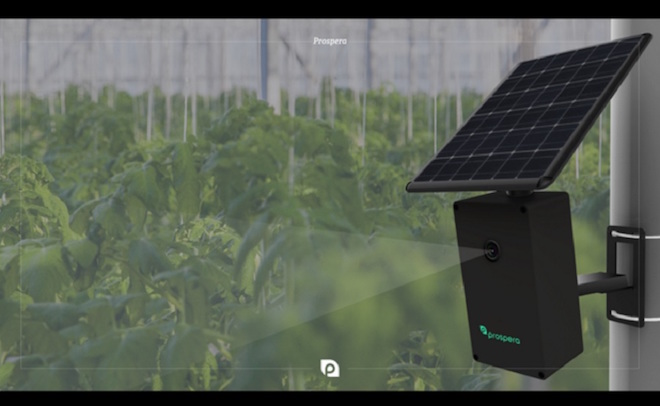 Above: Prospera has raised $7 million for smart farming. Image Credit: Prospera