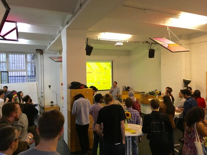 カイロのスタートアップイベント RiseUp Summitもベルリンでミートアップを開催。カイロとベルリンをつなぐ。