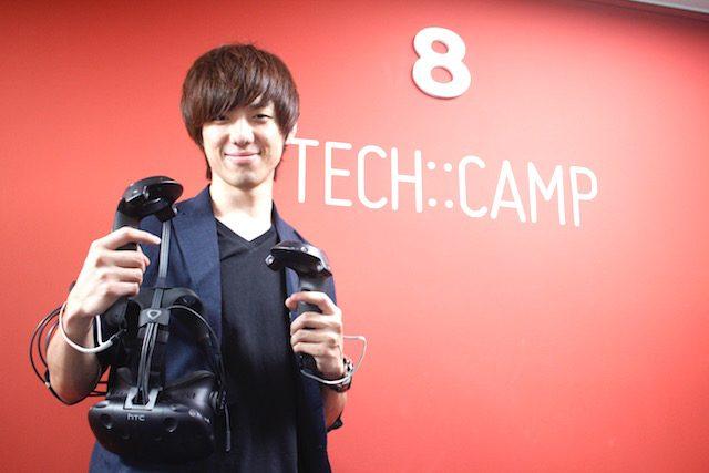 div 「TECH::CAMP VR」責任者 平田裕哉氏