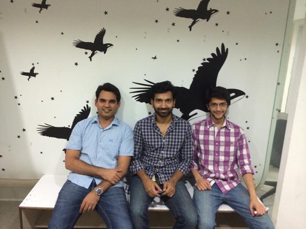 UrbanClap founders Abhiraj Bhal, Varun Khaitan, and Raghav Chandra.
