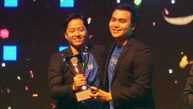Ahlijasa won the regional final of Startup Worldcup yesterday.