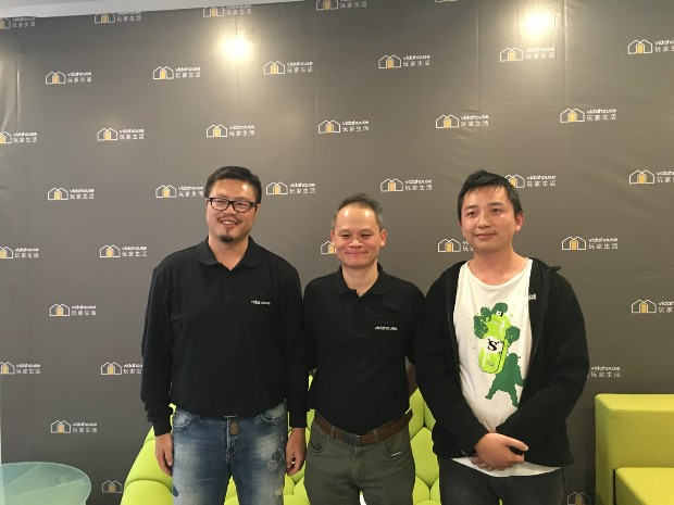 Jimmy Zhuang (Right), Weisen Chen (Middle)