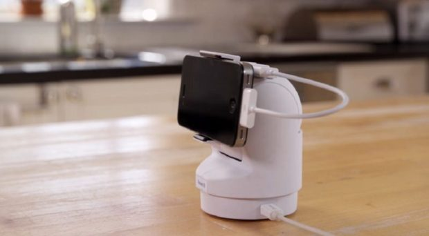 Above: You can attach an old phone to Presence 360. Image Credit: People Power