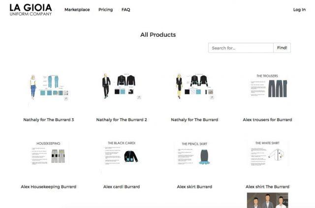ニューヨークのデザイナーが作る独自のユニフォームを提案するLa Gioia Uniforms