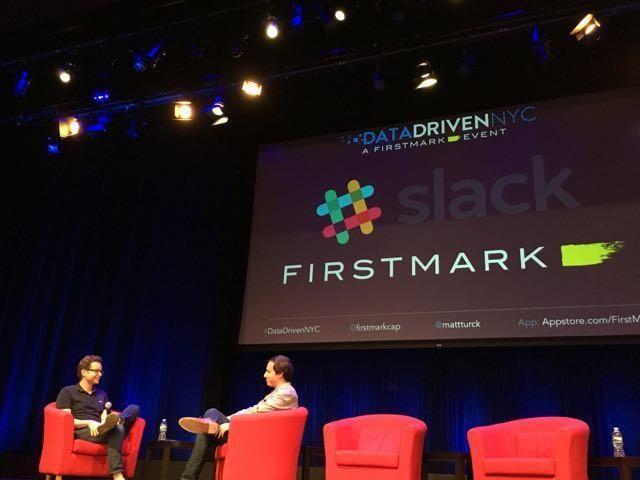 企業向けメッセージシステム「Slack」の検索・学習・知性担当部門長のNoah Weiss氏。彼の部門はニューヨークに設立されたばかり