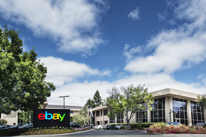 Above: eBay headquarters in San Jose. Image Credit: eBay