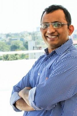 Virendra Gupta, founder and CEO of Dailyhunt