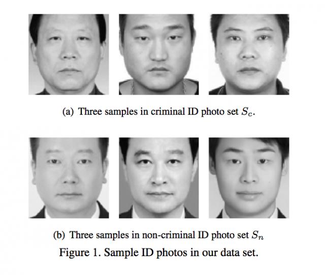 顔をもとに犯罪者を特定できるというニューラルネットワークを上海交通 ...