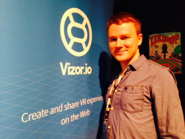 Kaarlo Kananen, founder and CEO of Vizor