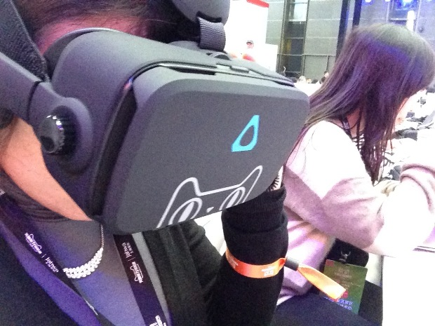 Alibaba's Buy+ demo using HTC Vive