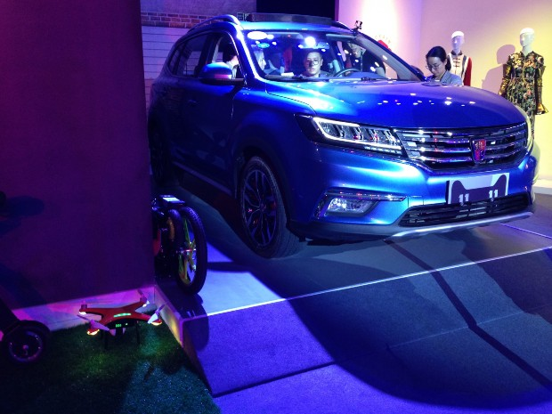 Roewe RX5 is connected to Alibaba's cloud YunOS.