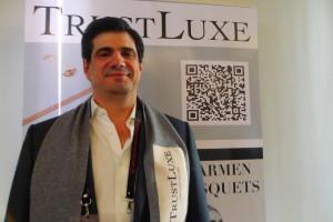 CEO of TrustLuxe, Ricardo Ferrer