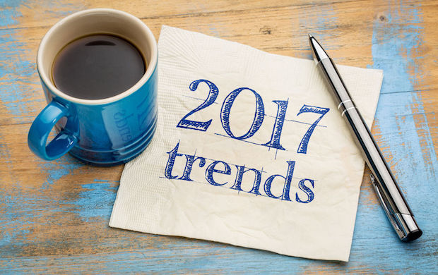 66418561 - 2017 trends concept - handwriting on a napkin with a cup of espresso coffee