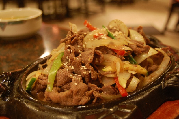 bulgogi via Flickr by stu_spivack