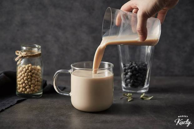 The startup's soy milk. Photo credit: Market Kurly's Facebook.