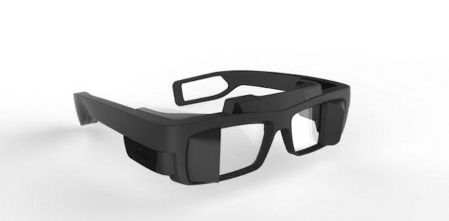 上:Lumusの拡張現実のグラス Image Credit: Lumus