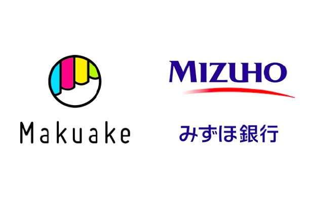 makuake-mizuho-bank-logos