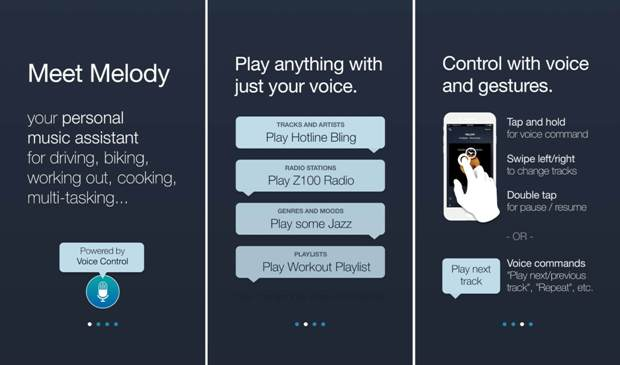 Above: Speak Music's onboard process for MelodyImage Credit: Speak Music