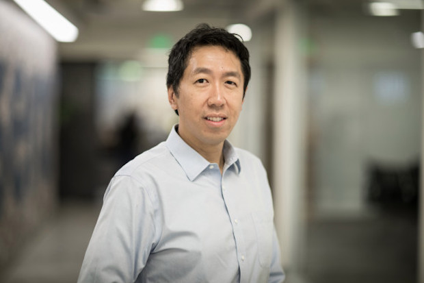 Coursera cofounder Andrew Ng poses in an undated photo.