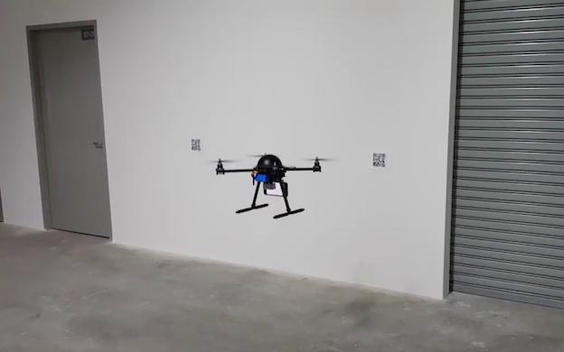 spiral-drone-qr-code-marker
