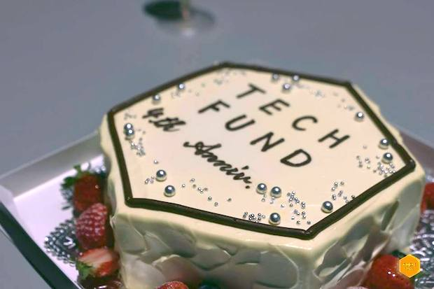 techfund-4th-anniversary-cake