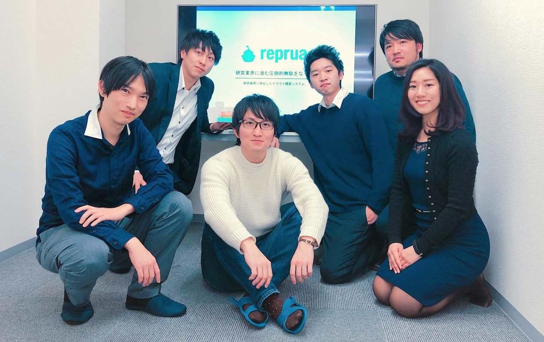 研究業界特化型クラウド購買システム「reprua(リプルア)」運営、プレシリーズAで約8000万円を調達 ...