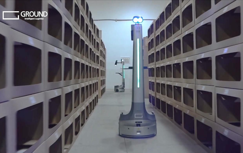 「物流 ロボット GROUND」の画像検索結果